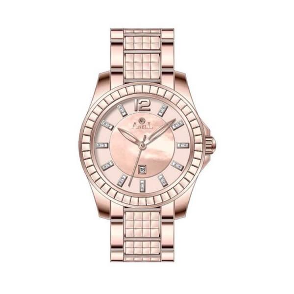 Ρολόι Anell 1X17FB_VB Χρονογράφος  Ροζ Χρυσό Μπρασελέ