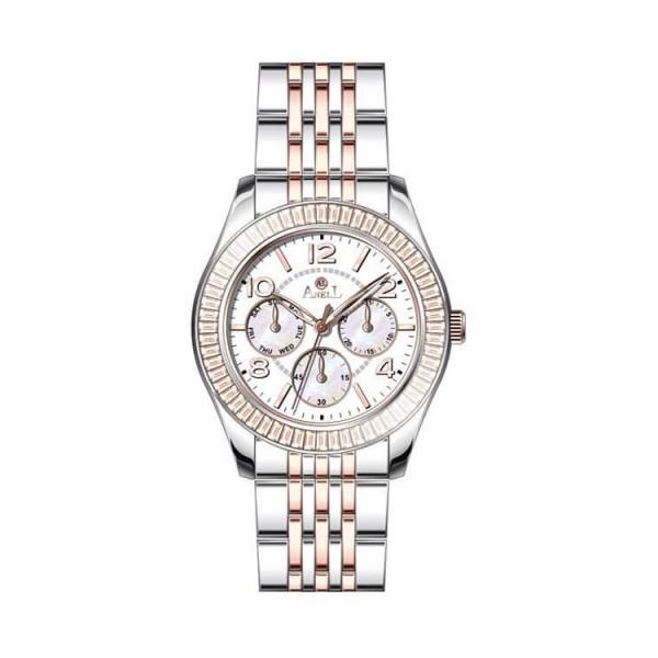 Ρολόι Anell 1W78FB_VB Χρονογράφος Ροζ Χρυσό Μπρασελέ