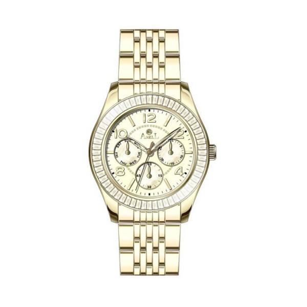 Ρολόι Anell 1W78FB_VC Χρονογράφος Χρυσό Μπρασελέ