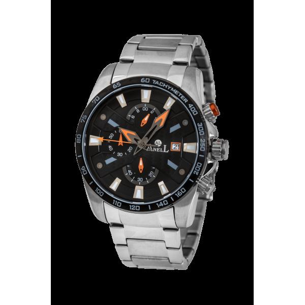 Ρολόι Anell 1R31GB_VA Χρονογράφος Πορτοκαλί Μπρασελέ