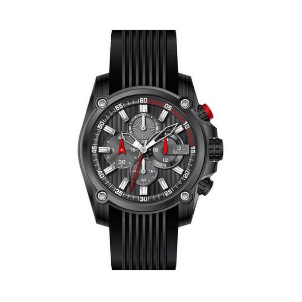 Ρολόι Anell 1X02G_VA Χρονογράφος Κόκκινος Ρίγες