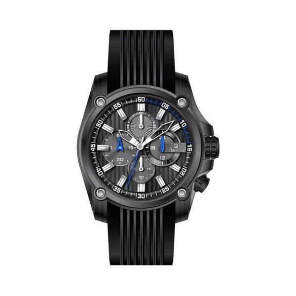 Ρολόι Anell 1X02G_VB Χρονογράφος Μπλέ Ρίγες