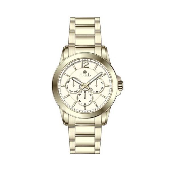 Ρολόι Anell 1G70FB_VD Πολλαπλών Ενδείξεων Χρυσό Μπρασελέ