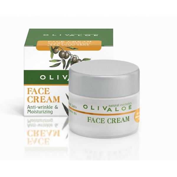 Κρέμα Προσώπου OliveALOE 00161 Ξηρό - Αφυδατωμένο Δέρμα