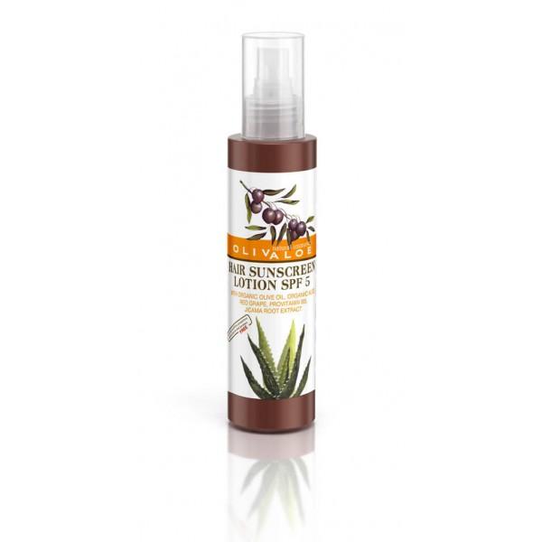 Αντηλιακή Λοσιόν Μαλλιών SPF 5 OliveALOE 00167