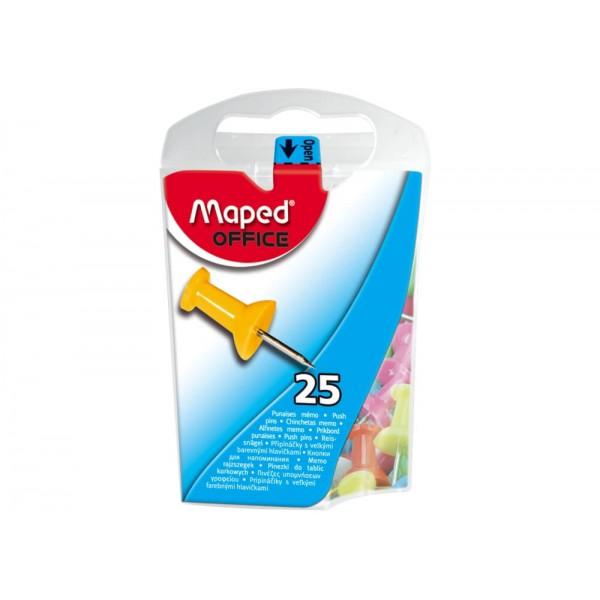 Καρφίτσες Maped 345011 10mm Κώνος (25 Τεμάχια)