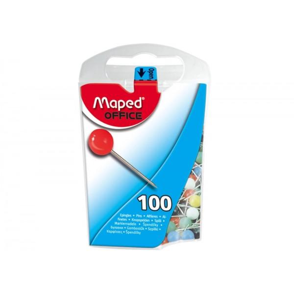 Καρφίτσες Maped 346011 5mm Μπίλια Μικρή (100 Τεμάχια)