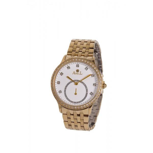 Ρολόι Anell 1D79FB_VC Χρονογράφος Χρυσός Μπρασελέ