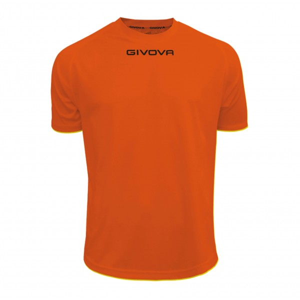 Ανδρική Αθλητική Μπλούζα GIVOVA One MAC01 ORANGE