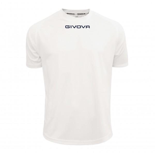 Ανδρική Αθλητική Μπλούζα GIVOVA One MAC01 WHITE