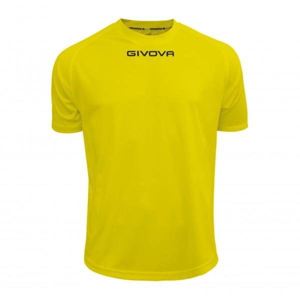 Ανδρική Αθλητική Μπλούζα GIVOVA One MAC01 YELLOW