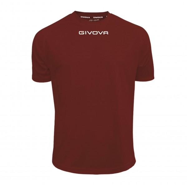 Ανδρική Αθλητική Μπλούζα GIVOVA One MAC01 GRANATA