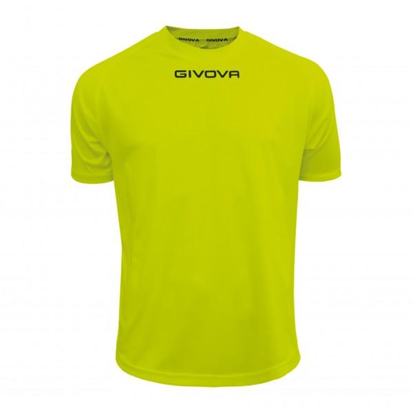 Ανδρική Αθλητική Μπλούζα GIVOVA One MAC01 YELLOW FLUO