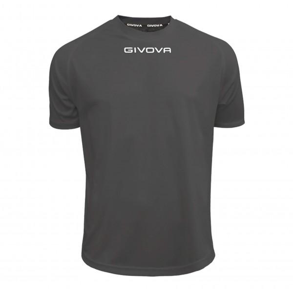 Ανδρική Αθλητική Μπλούζα GIVOVA One MAC01 DARK GRAY