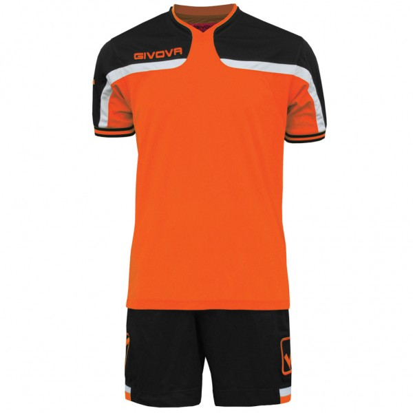 Αθλητική Εμφάνιση GIVOVA KIT America Senior BLACK/ORANGE