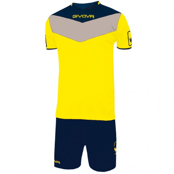 GIVOVA KIT CAMPO YELLOW/BLUE