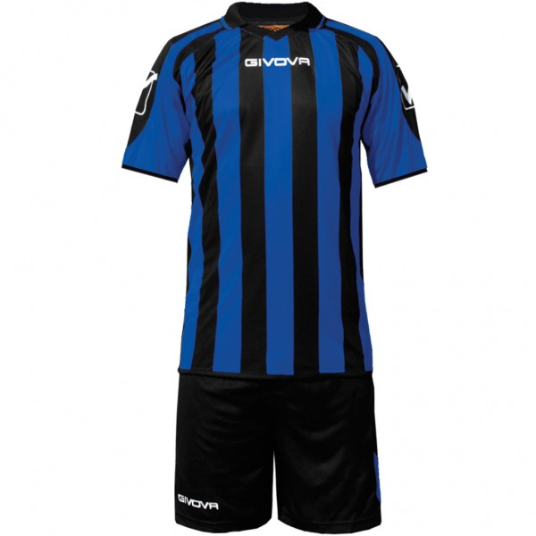 Αθλητική Εμφάνιση GIVOVA KIT SUPPORTER MC BLACK/AZZURRO
