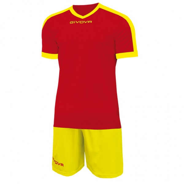 GIVOVA KIT REVOLUTION RED/YELLOW