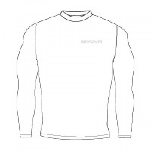 Κ1 Ισοθερμικό Μπλουζάκι GIVOVA CORPUS 3 MAGLIA WHITE