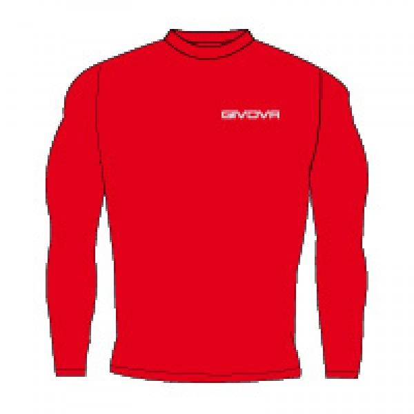 Κ1 Ισοθερμικό Μπλουζάκι GIVOVA CORPUS 3 MAGLIA RED