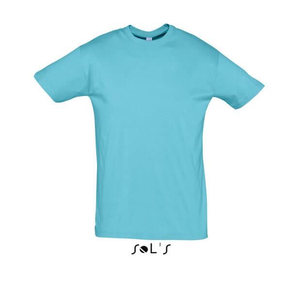 Μακό Μπλουζάκι SOL'S REGENT ATTOL BLUE
