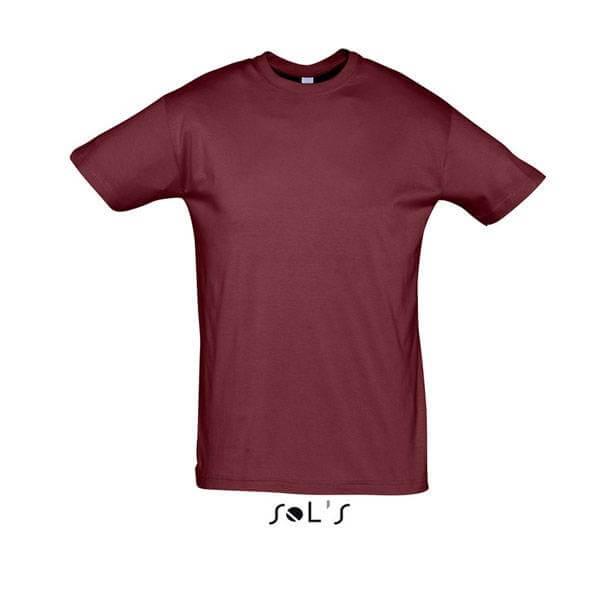 Μακό Μπλουζάκι SOL'S REGENT BURGUNDY