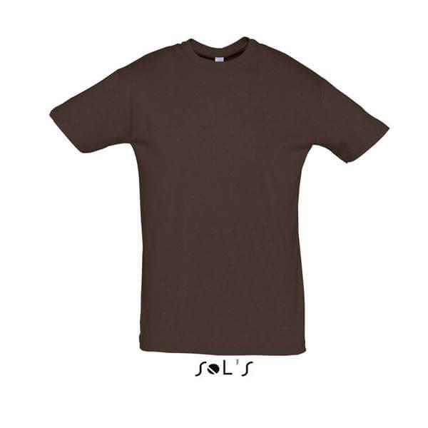 Μακό Μπλουζάκι SOL'S REGENT CHOCOLATE