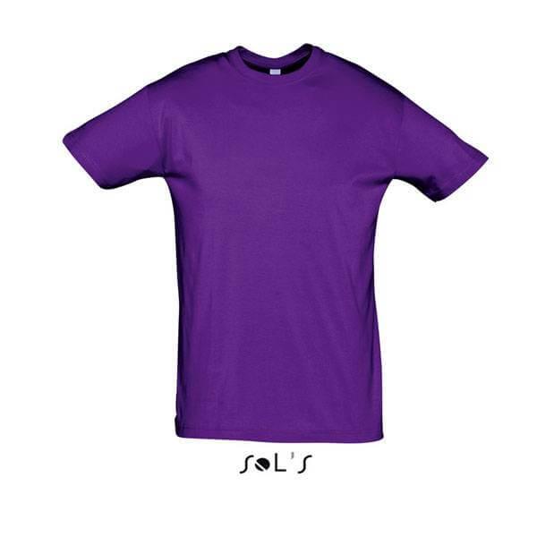 Μακό Μπλουζάκι SOL'S REGENT DARK PURPLE