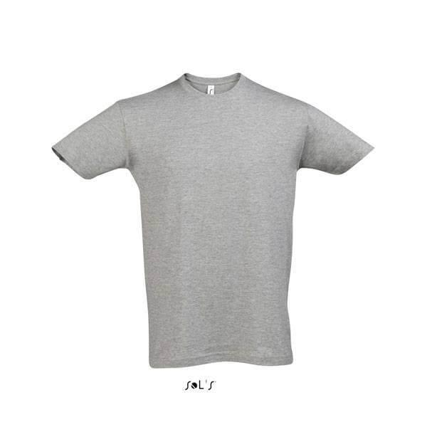 Μακό Μπλουζάκι SOL'S REGENT GREY MELANGE
