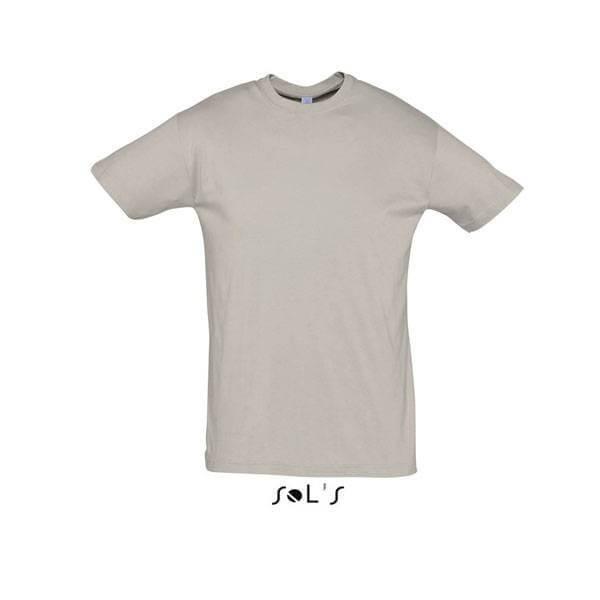 Μακό Μπλουζάκι SOL'S REGENT LIGHT GREY