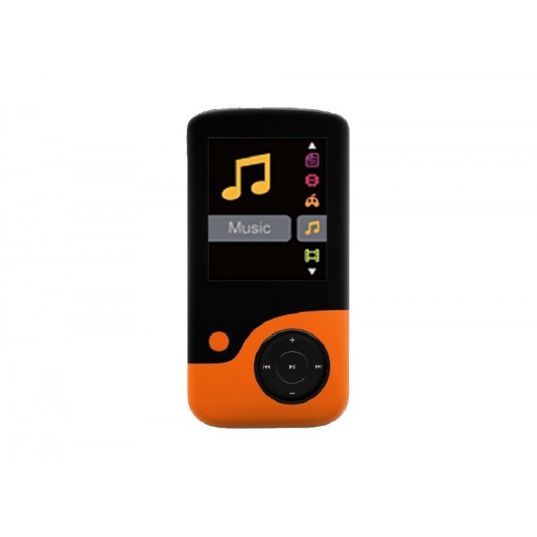 MP3 Player Crypto MP1800 8GB Πορτοκαλί