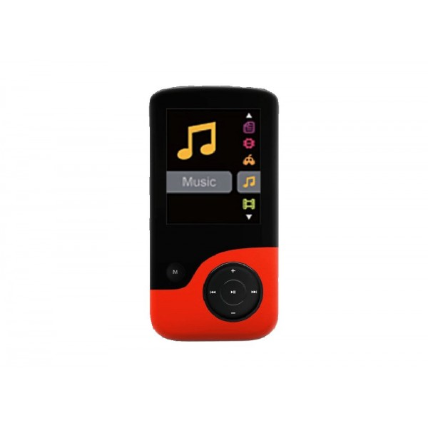 MP3 Player Crypto MP1800 8GB Κόκκινο