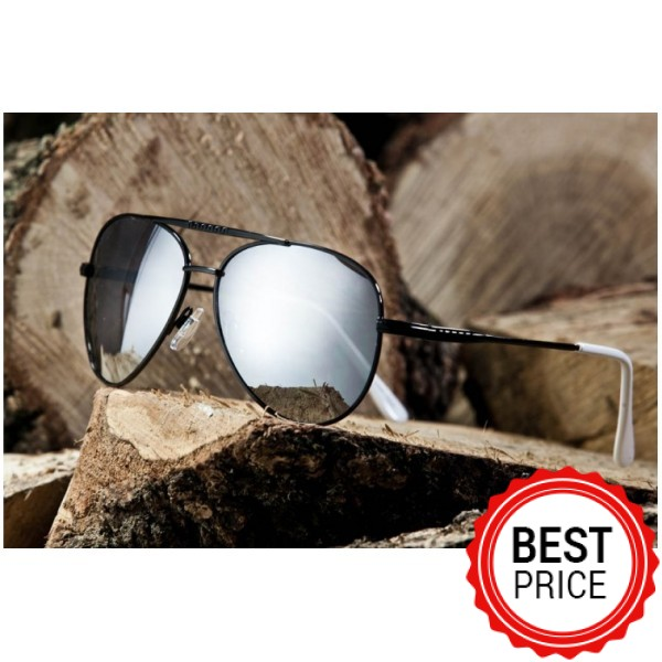 Γυαλιά ηλίου Maestri Italiani 20-85830 BLACK-SILVER