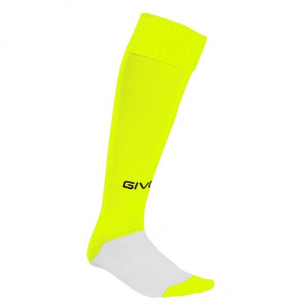 Αθλητικές Κάλτσες GIVOVA C001 - GIALLO FLUO