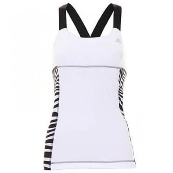 Γυναικείο Αθλητικό Μπλουζάκι ADIDAS Power Zebra G70327