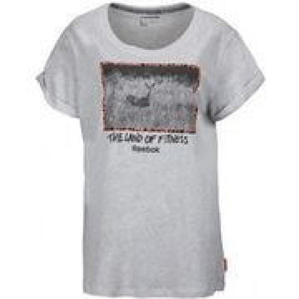 Γυναικείο Μπλουζάκι REEBOK LAND TEE Z79380