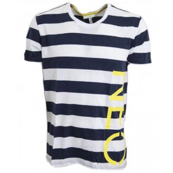 Ανδρικό Μπλουζάκι ADIDAS NEO LOGO STRIPED G82624