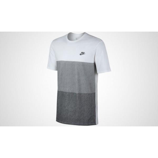 Ανδρικό Μπλουζάκι NIKE TONAL COLORBLOCK TEE 779818-100
