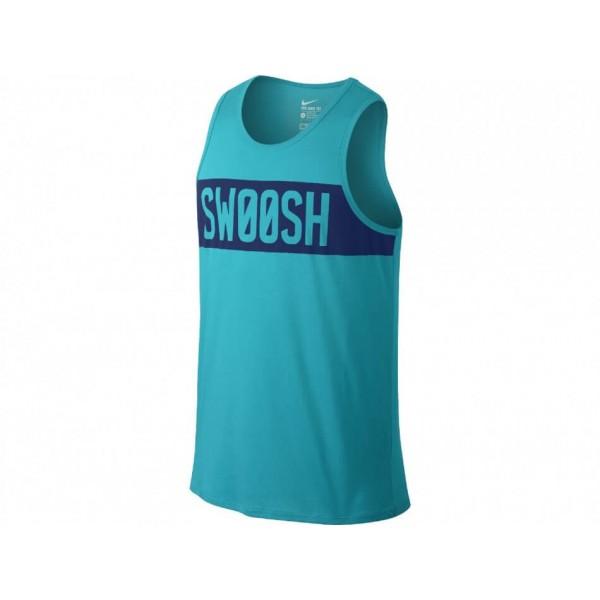 Ανδρικό Μπλουζάκι NIKE DFCT SWOOSH BLOCK TANK 779185-418