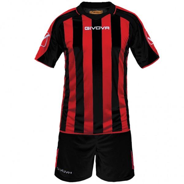 Αθλητική Εμφάνιση GIVOVA KIT SUPPORTER MC BLACK/RED