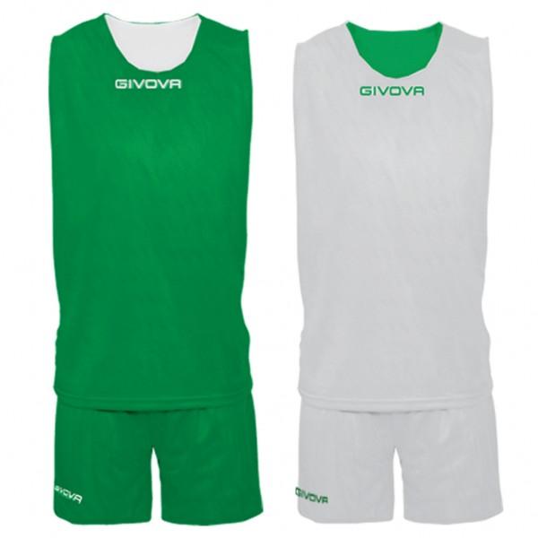 Αθλητική Εμφάνιση GIVOVA KIT DOUBLE VERDE/BIANCO