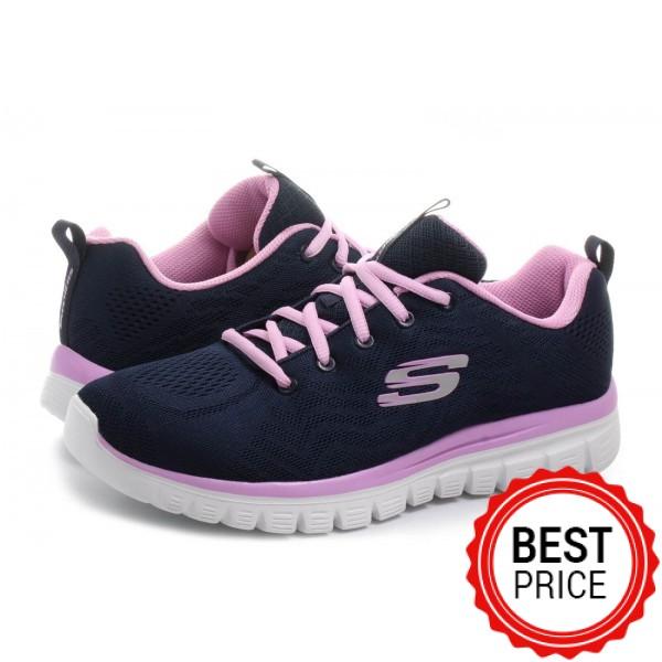 Γυναικείο Αθλητικό Παπούτσι SKECHERS GRACEFUL GET CONNECTED 12615-NVHP