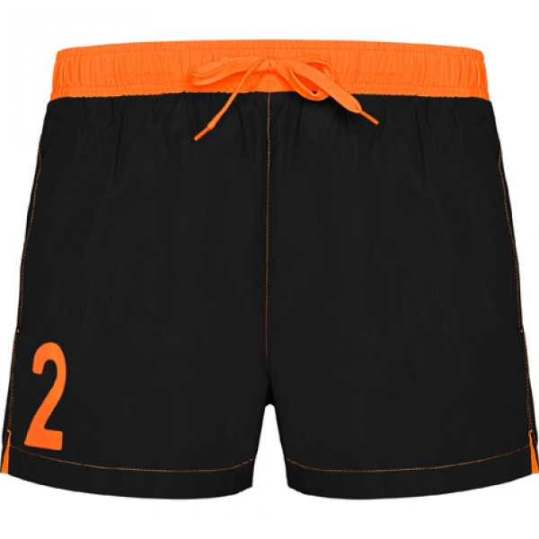 Κ1 Μαγιό Roly Bondi BN6721 BLACK/ORANGE