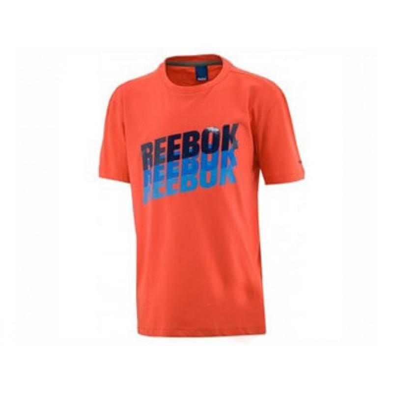 Παιδικό Μπλουζάκι REEBOK T-SHIRT ORZ X20709 f4066b13f54