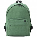 Roly Backpack Teros BO7145 Heather Fern Green