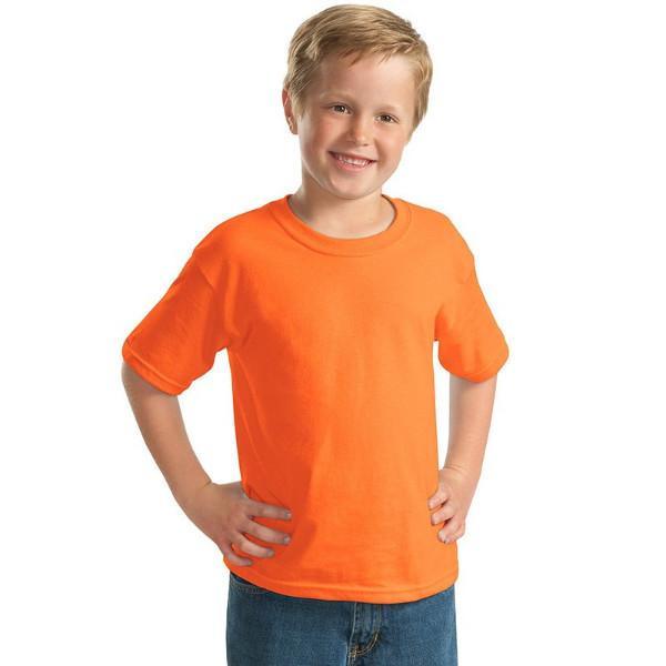 Κ1 Παιδικό Μπλουζάκι Μακό KEYA YC150 Πορτοκαλί